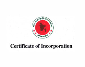 incorporation certificate in Bangladesh